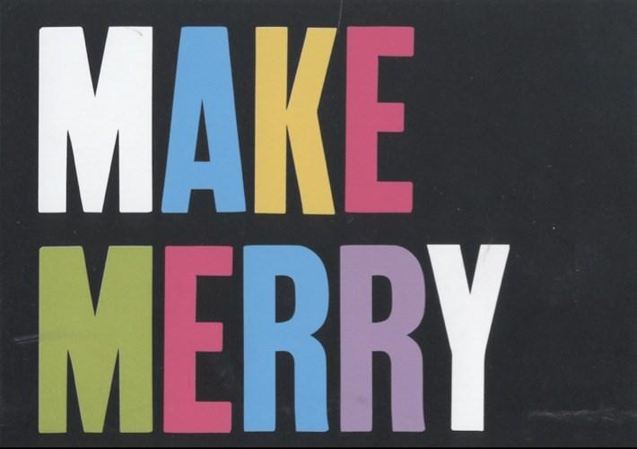 Make Merry: BALTIC Christmas Card