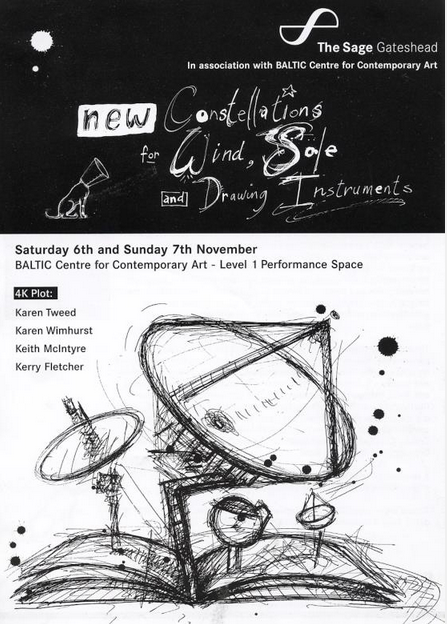 Folkworks present: 4K Plot: New Constellations for Wind, Sole and Drawing Instruments