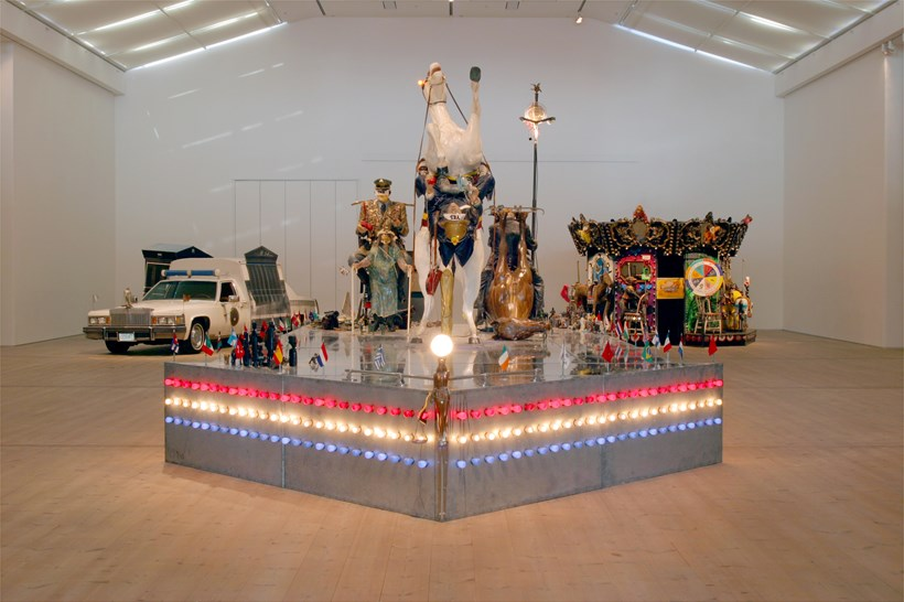 Kienholz: The Caddy Court, The Ozymandias Parade and The Merry-Go-World or Begat By Chance And The Wonder Horse Trigger