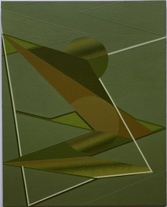 British Art Show 6 Image: Tomma Abts: Nomde