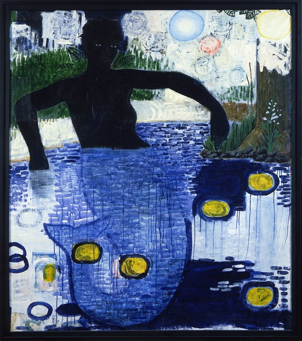 Kerry James Marshall: Blue Water Silver Moon (Mermaid)