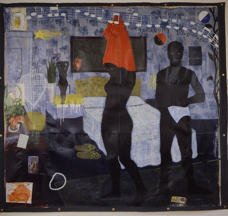 Kerry James Marshall: Could This Be Love