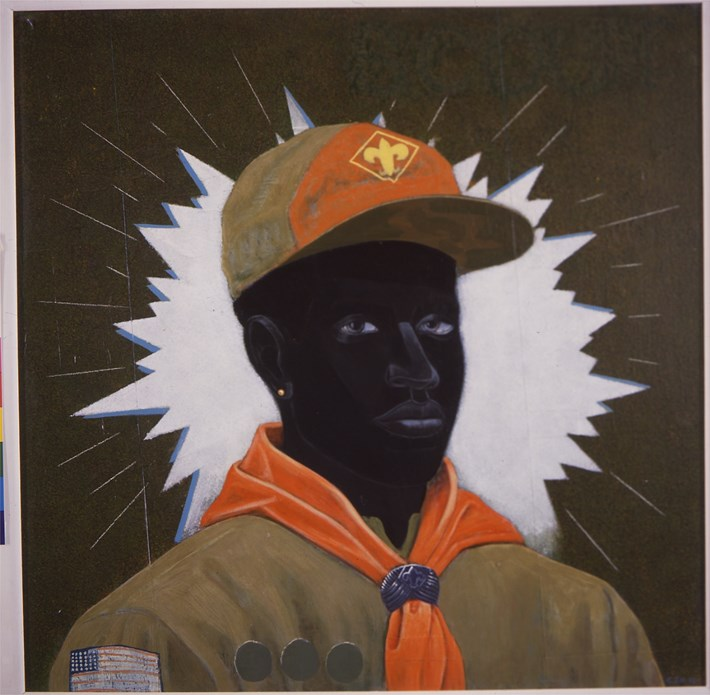 Kerry James Marshall: Scout (Boy)