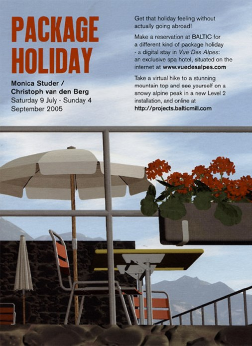 Monica Studer, Christoph Van Den Berg: Package Holiday: Exhibition Guide