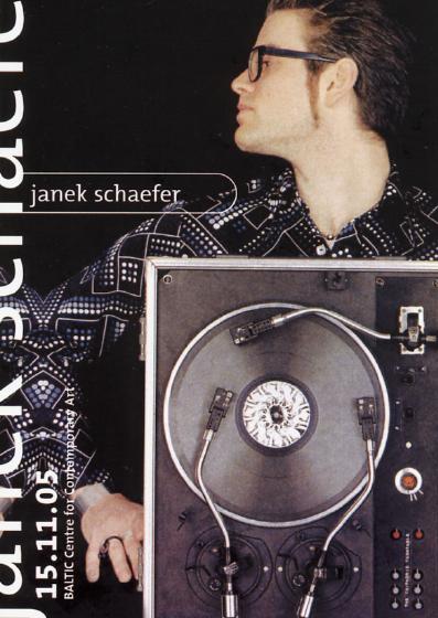 Janek Schaefer: Performance Lecture: Publicity Postcard