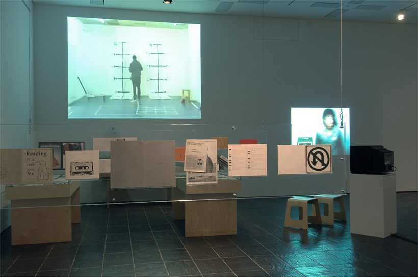 History of Disappearance exhibition at BALTIC: Installation shot (04)