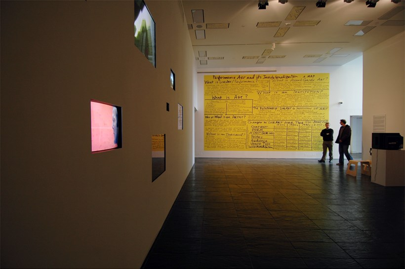 History of Disappearance exhibition at BALTIC: Installation shot (10)