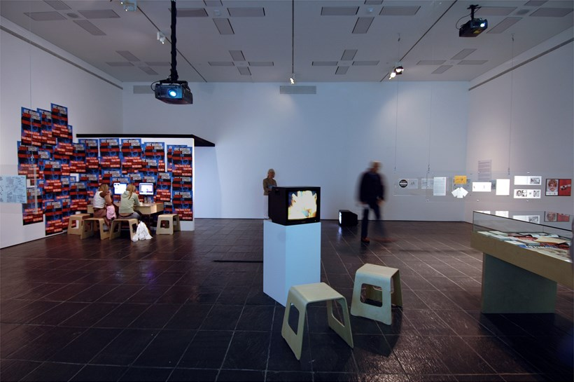 History of Disappearance exhibition at BALTIC: Installation shot (11)