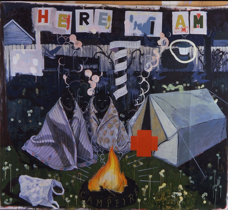 Kerry James Marshall: Campfire Girls