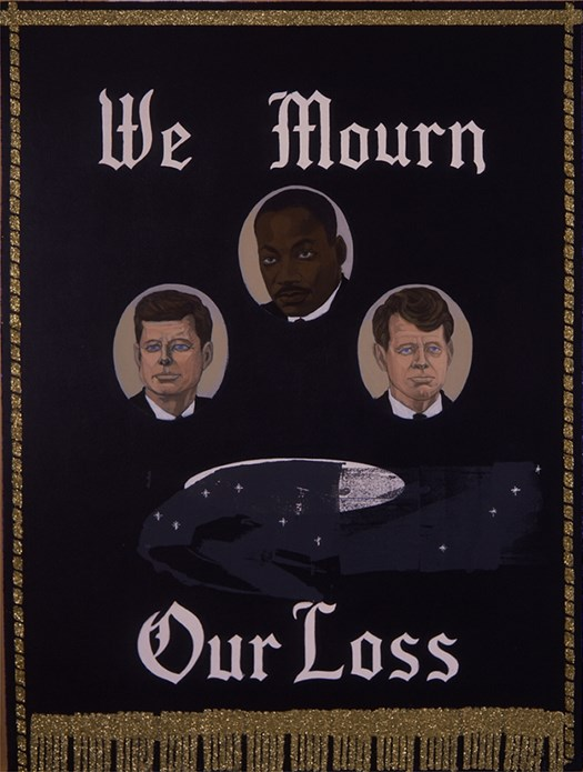 Kerry James Marshall: We Mourn Our Loss 1