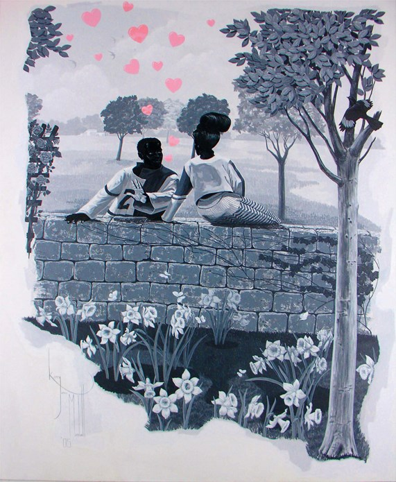 Kerry James Marshall: Vignette VI