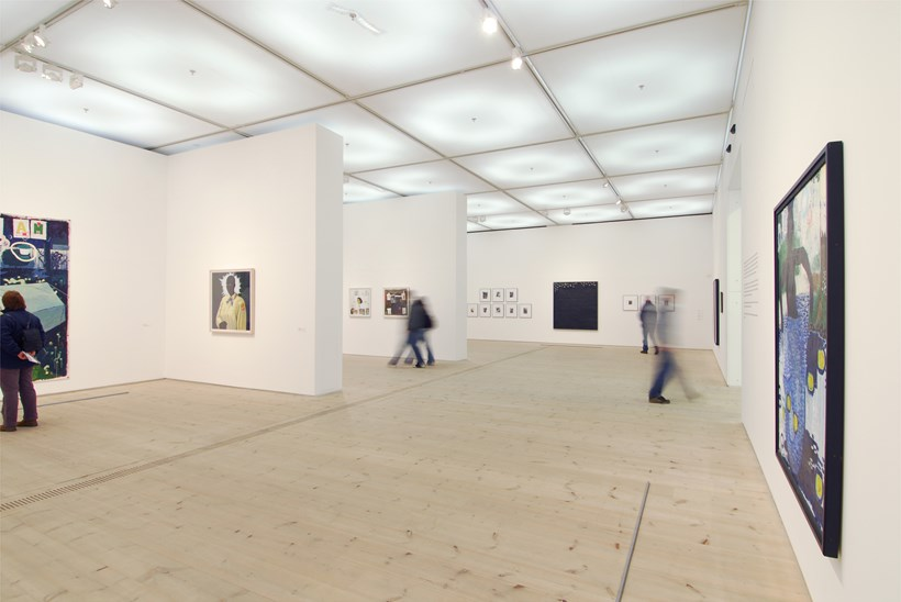 Kerry James Marshall: Along the Way: Exhibition Shot (01)