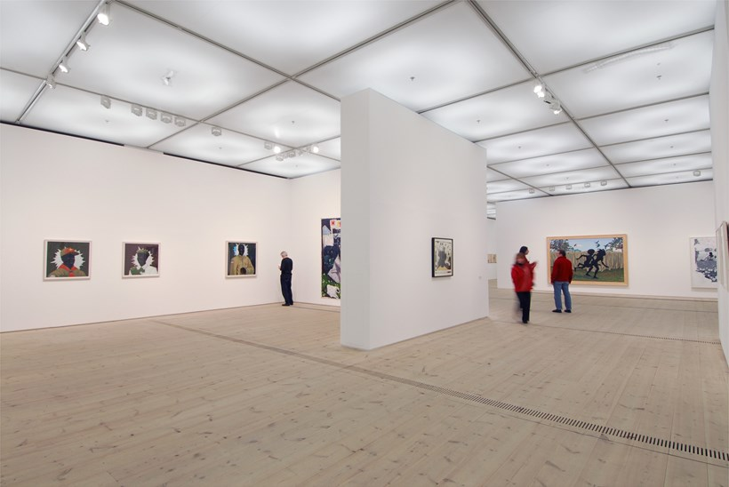 Kerry James Marshall: Along the Way: Exhibition Shot (02)