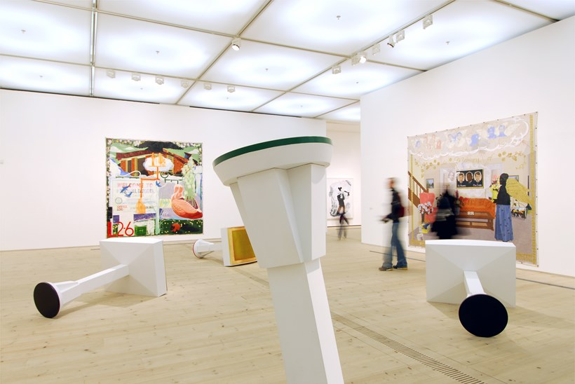 Kerry James Marshall: Along the Way: Exhibition Shot (05)