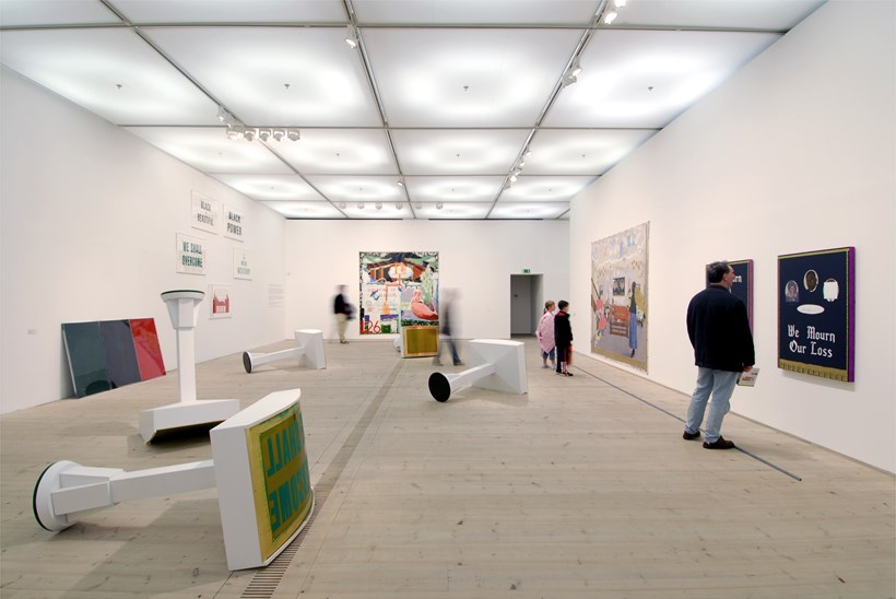 Kerry James Marshall: Along the Way: Exhibition Shot (06)