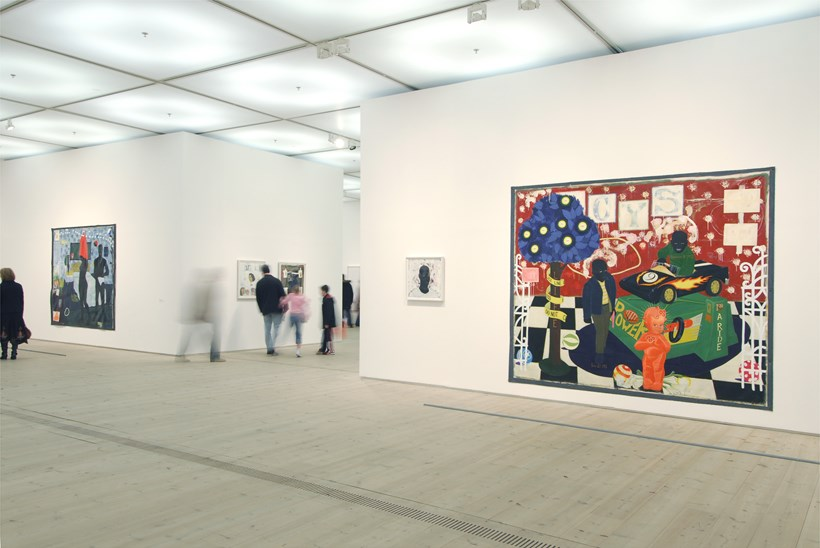 Kerry James Marshall: Along the Way: Exhibition Shot (08)