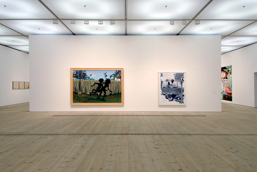 Kerry James Marshall: Along the Way: Exhibition Shot (09)