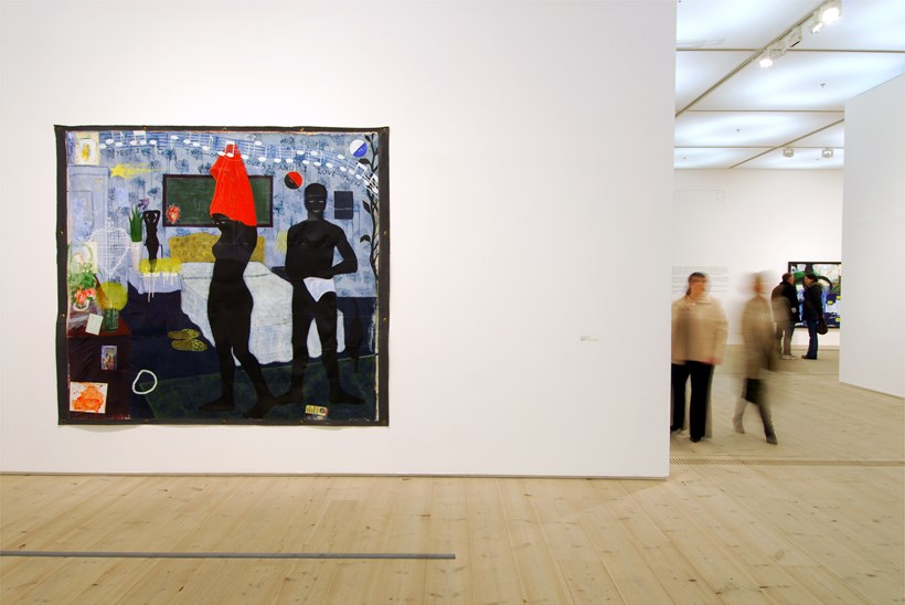 Kerry James Marshall: Along the Way: Exhibition Shot (10)