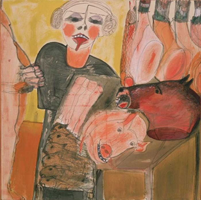 Carol Rama: La macelleria