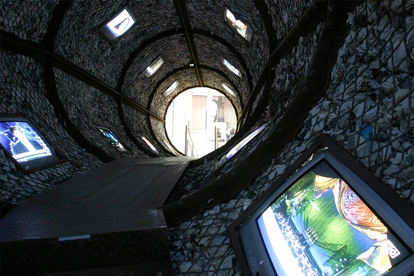 Wang Du: The Space-Time Tunnel (Exhibition): Interior shot