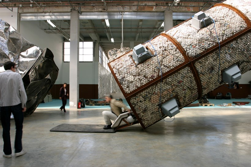 Wang Du: The Space-Time Tunnel (Exhibition): Exit
