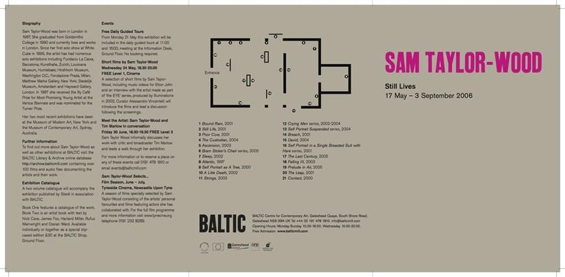 Sam Taylor-Wood: Still Lives: Exhibition Guide