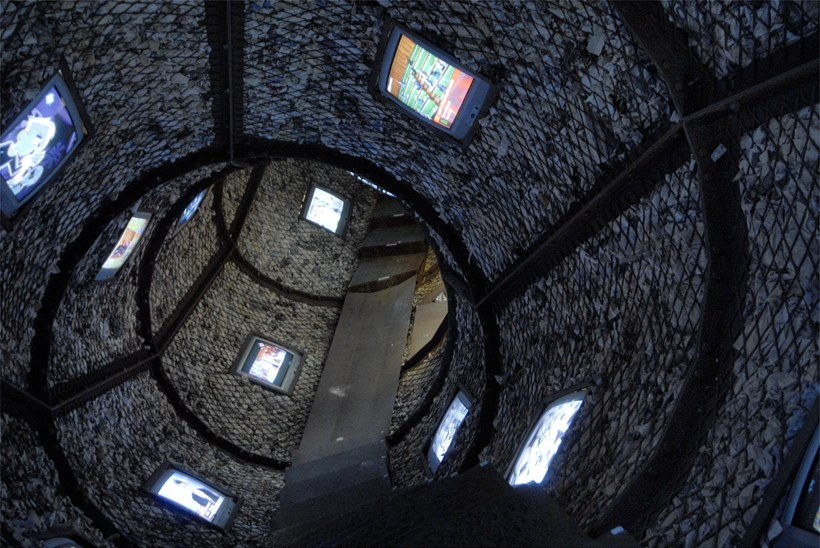 Wang Du:  The Space-Time Tunnel: BALTIC installation shot (02)