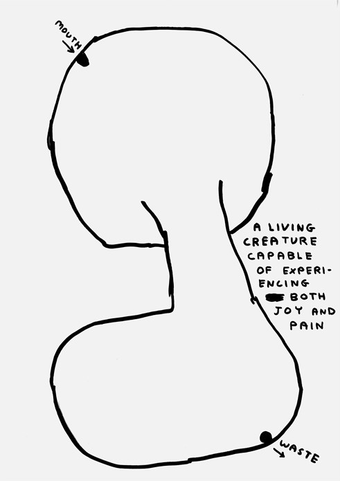 David Shrigley: Spank the Monkey: Drawing (03)