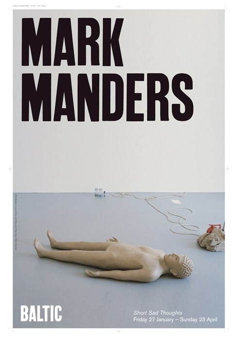 Mark Manders: Short Sad Thoughts: Poster