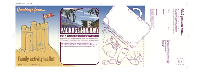 Package Holiday: Family Activity Leaflet