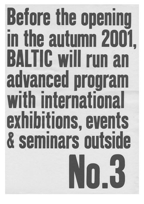 BALTIC Newsletter 03