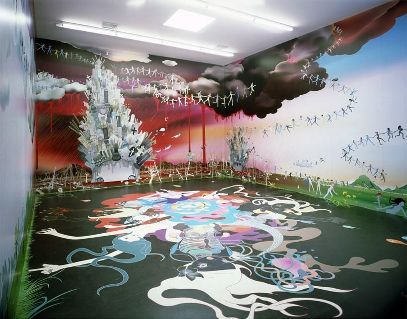Chiho Aoshima: Asleep, dreaming of reptilian glory [installation view]