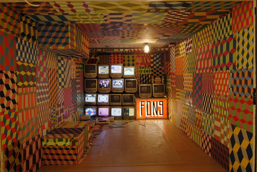 Spank the Monkey: Level 4: Barry Mcgee (internal)