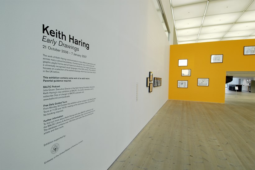 Keith Haring: Early Drawings: Installation shot (03)