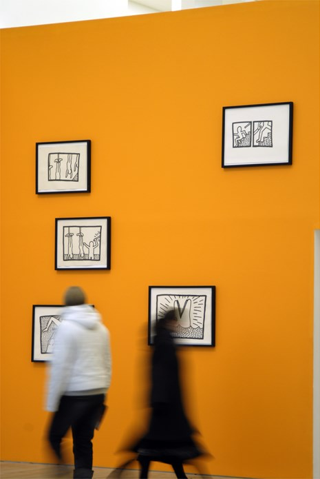 Keith Haring: Early Drawings: Installation shot (04)