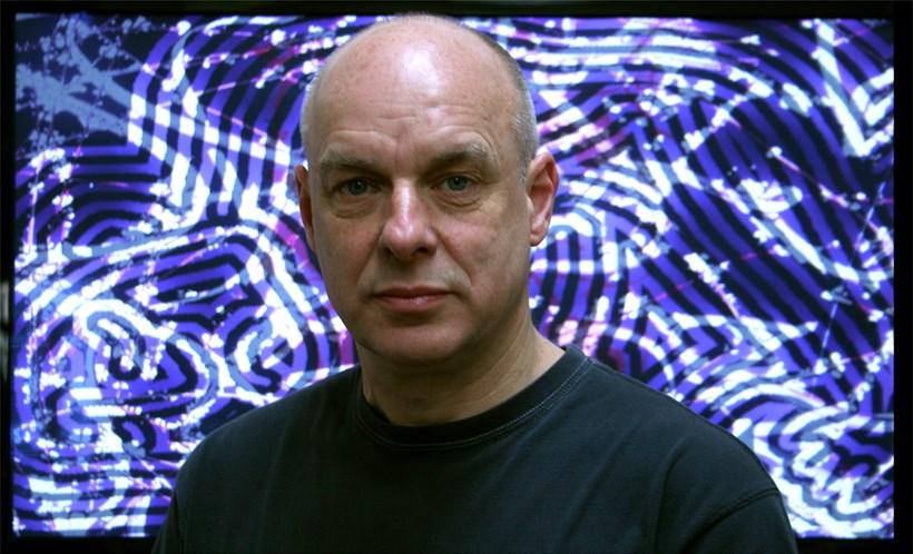 Brian Eno: 77 Million Paintings (portrait)