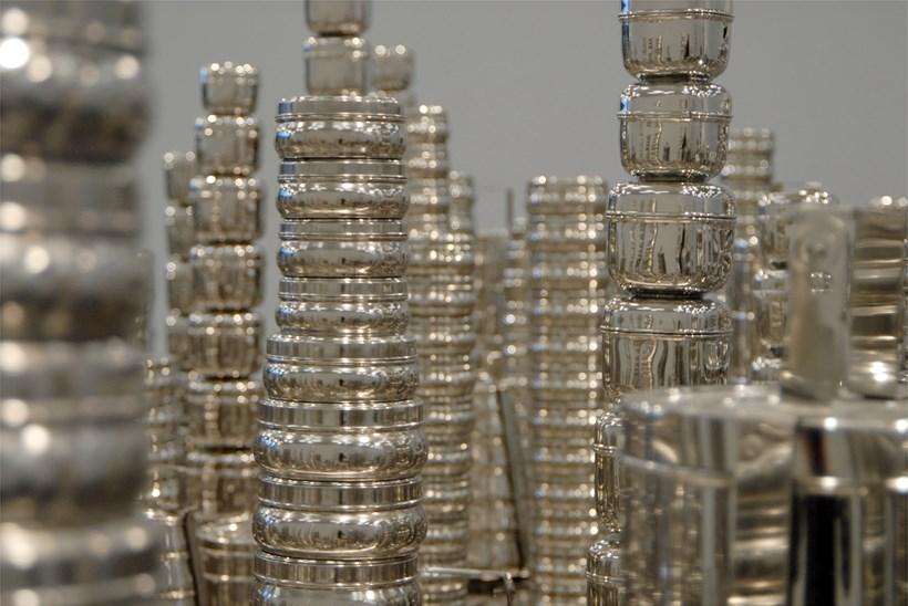 Subodh Gupta: Silk Route: Installation shot (03)
