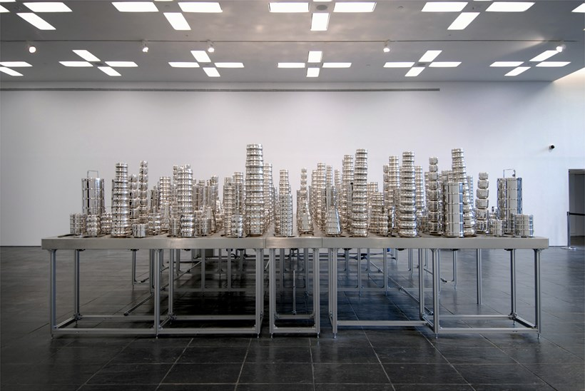 Subodh Gupta: Silk Route: Installation shot (07)
