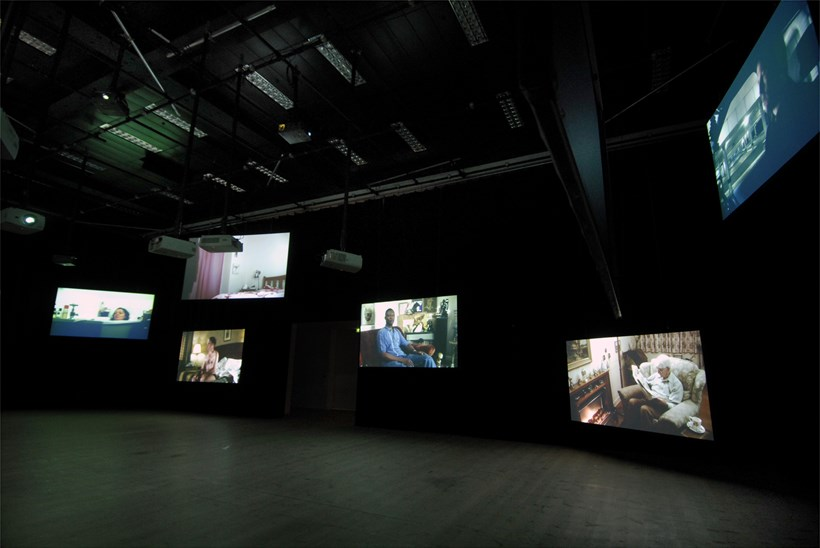 Marcus Coates: Dawn Chorus: Installation Shot (02)