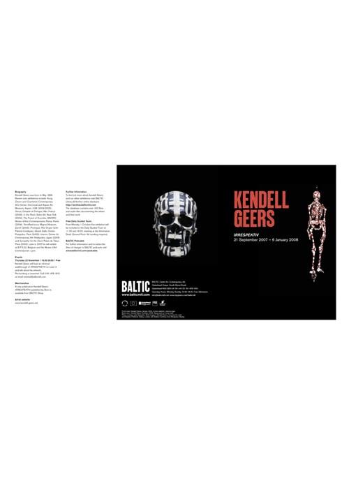 Kendell Geers: Irrespektiv: Exhibition Guide