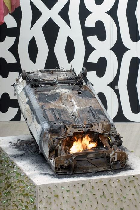 Kendell Geers: Irrespektiv: Exhibition image (07)