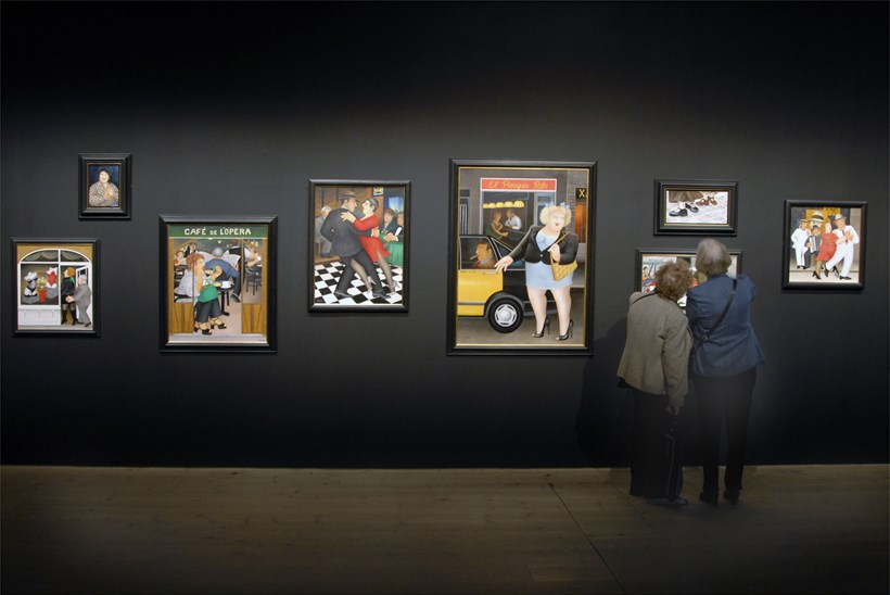 Beryl Cook: My World: Exhibition Image (02)
