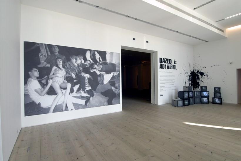 Dazed & Confused Vs Andy Warhol: Installation shot (01)