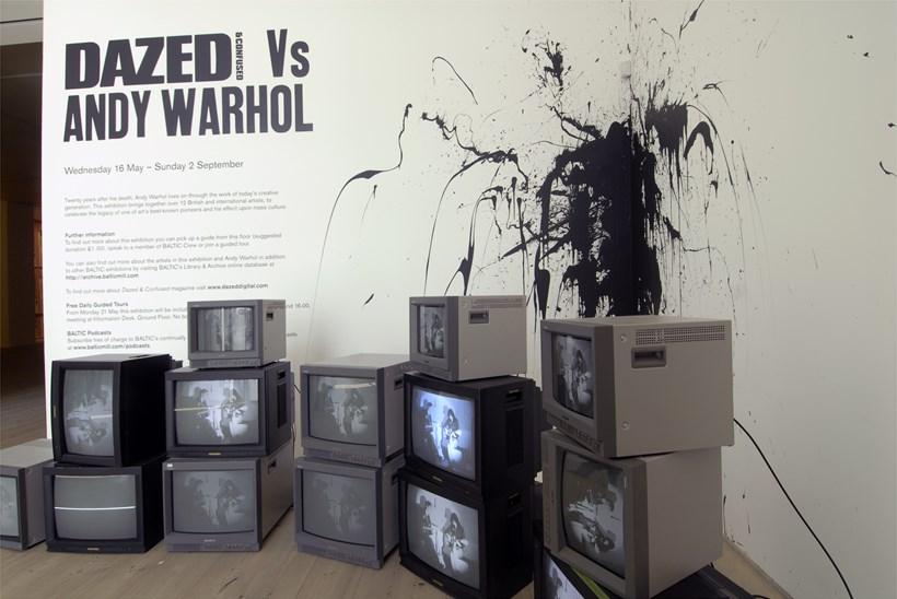 Dazed & Confused Vs Andy Warhol: Installation shot (02)