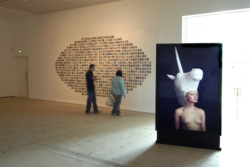 Dazed & Confused Vs Andy Warhol: Installation shot (04)