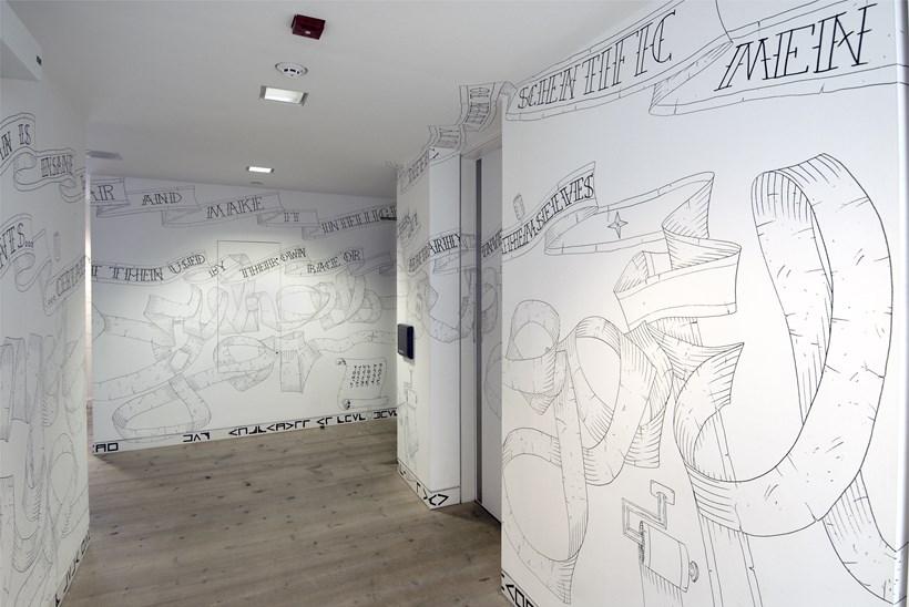 Ant Macari: Fresh as Tomorrow: Installation shot (01)