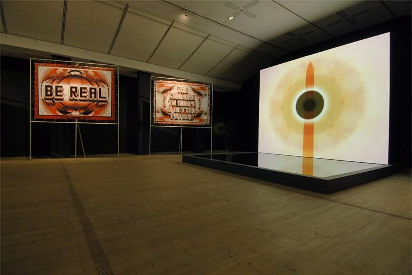Mark Titchner: Run, Black River, Run: Exhibition Shot (04)