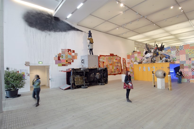 Barry McGee: They Don't Make This Anymore: Exhibition Shot (01)