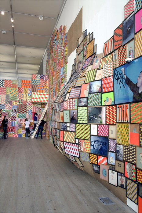 Barry McGee: Exhibition Shot (03)