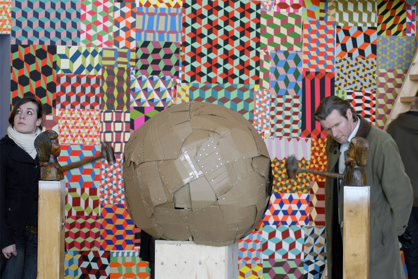 Barry McGee: They Don't Make This Anymore: Exhibition Shot (04)
